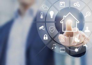AAL und Smart Home symbolisiert