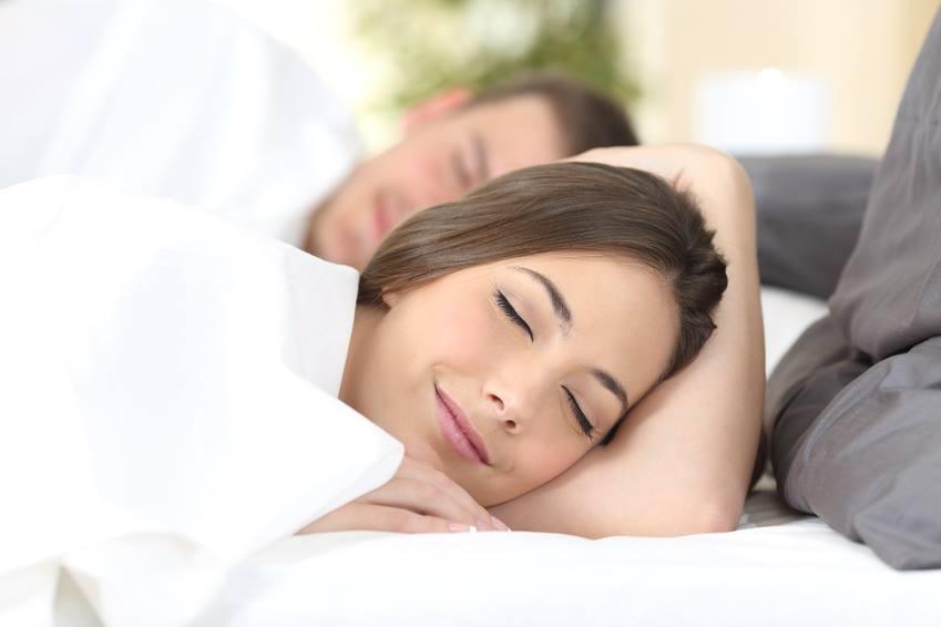 Schlafendes Paar