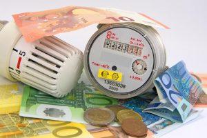 Zähler, Thermostat und Geld
